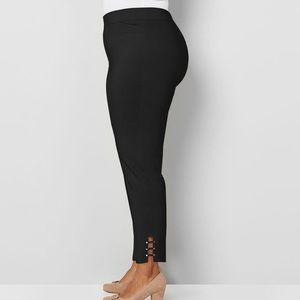 Avenue Super Stretch Pull-On Studded Ankle Pant